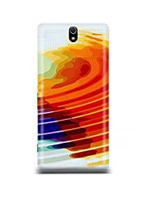 Colorful Pattern Sony C5 Case