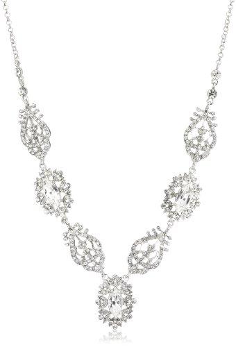 Nina Celine Czech Crystal Vintage Inspired Necklace