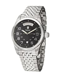 Victorinox Swiss Army Men's 24148 Ambassador Black Dial Watch