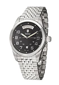 Victorinox Swiss Army Men's 24148 Ambassador Black Dial Watch