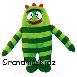 Yo Gabba Gabba Brobee Plush Doll Preschool Toys - 1