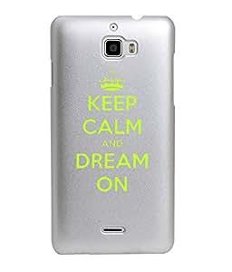 KolorEdge Back Cover For Coolpad Dazen 1 - Silver (1536-Ke15082Dazen1Silver3D)