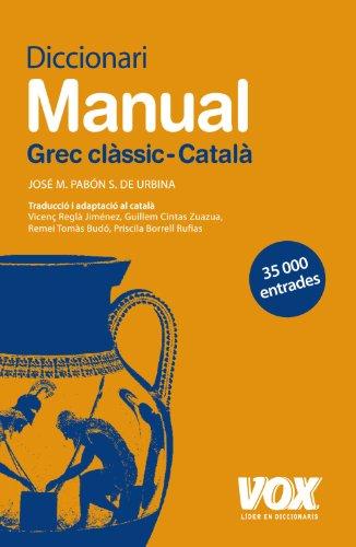 Dicc. Grec Clàsic-Català (Vox - Lenguas Clásicas)
