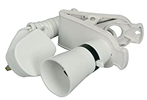 mercury Switched Clip on Lamp Holder from mercury