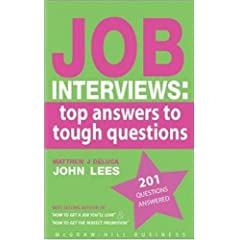 Image: Cover of Job Interviews: Top Answers to Tough Questions