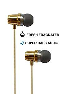 ESN 999 Fragranced & Scented Handsfree Earphones for Apple iphone 6S Plus(Gold/Pink/Blue/Orange)