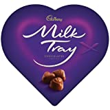 Cadbury Milk Tray Heart Gift Box 50g X 16