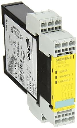 siemens 3tk28 21 2cb30 safety relay  for emergency stop GE Control Relays Refrigerator Compressor Start Relay Diagram