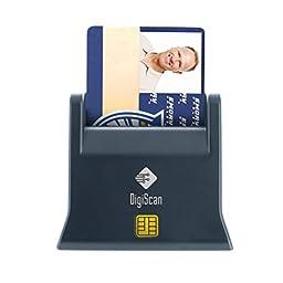 DigiScan USB CAC Smart Card Reader Desk Version (DOD Compatible)