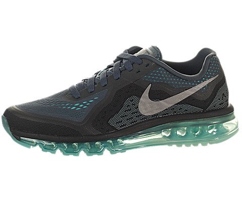 Nike Women's Air Max 2014 Dark Mgnt Grey/Rflct Slvr/Hypr Tr Running Shoe 8 Women US