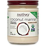 Nutiva Organic Coconut Manna, 15-Ounce (Pack of 2)