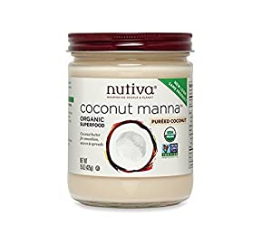 Nutiva Organic Coconut Manna, 15-Ounce (Pack of 2)