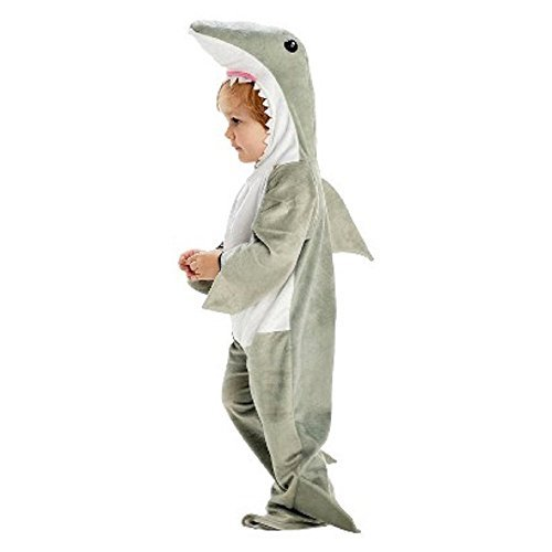 Plush Shark Costume, Infant Toddler 12-24 Months