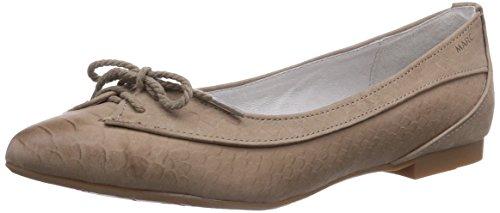 Marc Shoes 1.480.16-01/260-Penelopez, Ballerine chiuse donna, Grigio (Grau (taupe 260)), 40