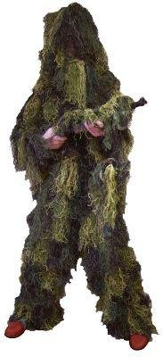 Red Rock Gear Men's Youth Ghillie Suit, Woodland Camouflage