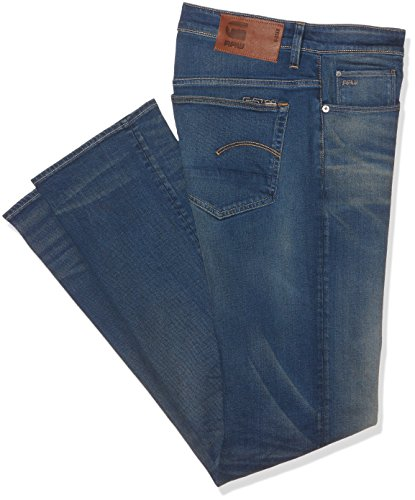 G-STAR RAW 3301 Loose, Jeans Uomo, Blu (Medium Aged 071), W32/L38