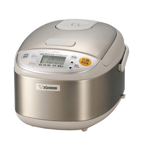 【Amazonの商品情報へ】ZOJIRUSHI マイコン炊飯ジャー 極め炊き 3合 NS-LE05-XA  ステンレス