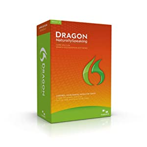 Dragon NaturallySpeaking Home 12.0, English $49.99
