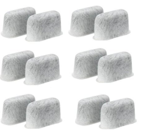 12 Replacement Charcoal Water Filters For Cuisinart Coffee Machine