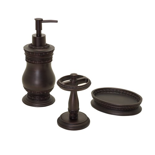 Zenith Charmain 3-Piece Bath Set