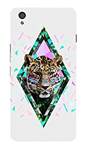 Back Cover for OnePlus X Abstract Leopard