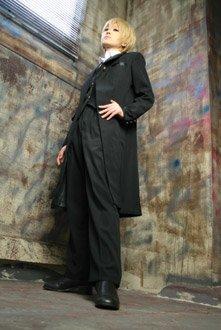 コスプレ衣装 バトラー服 執事(黒)