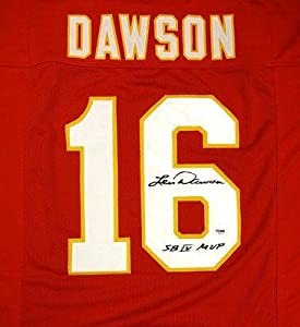 Len Dawson Autographed Signed Kansas City Chiefs Red Jersey sb Iv Mvp - PSA DNA... by Sports Memorabilia