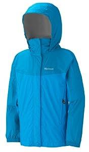 【高端】土拨鼠 Marmot Girl's Precip Jacket 女孩爽肤防水透气冲锋衣 蓝$31.98