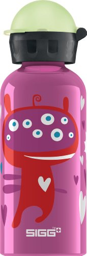 Sigg 8423.10 Glow in the dark Monster solid pink 0,4l