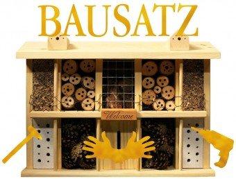 insektenhotel bausatz wildbienenhotel selber bauen. Black Bedroom Furniture Sets. Home Design Ideas