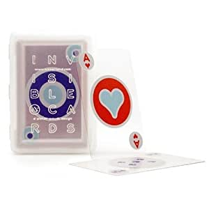 Kikkerland Design Invisible Playing Cards