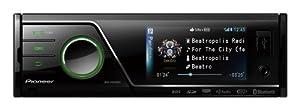 "Pioneer MVH-P8300BT 3"" In-Dash AV Receiver with iPod/iPhone Control, Bluetooth, Pandora"