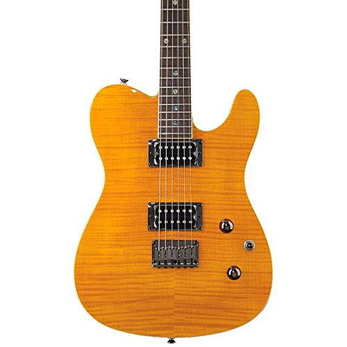 Fender Special Edition Custom Telecaster® FMT HH Electric Guitar, Amber, Rosewood Fretboard (Telecaster Coil Tap compare prices)
