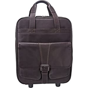 Jill-e 144751 Jack Large Rolling Leather Camera Bag (Brown)