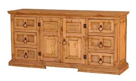 Rustic San Gabriel Dresser
