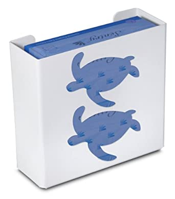 "TrippNT 50857 Priced Right Double Glove Box Holder with Sea Turtle, 11"" Width x 10"" Height x 4"" Depth"