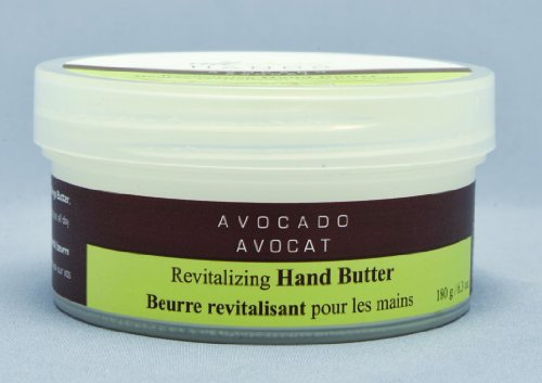 Upper Canada Soap & Candle All About Hands Avocado Revitalizing Hand Butter, 6.3-Ounce Jars (Pack of 2)