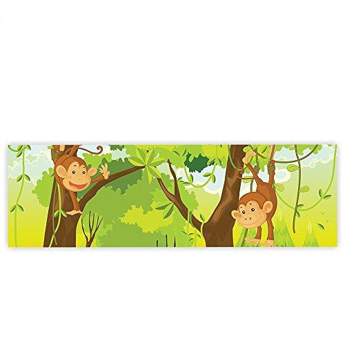 Kinderzimmer Tapete Dschungel : – Kinderzimmer Kindertapete Comic Affen Dschungel ?ffchen – no. 094