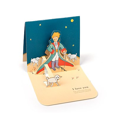 LE PETIT PRINCE LOVE POP-UP CARD - Sheep