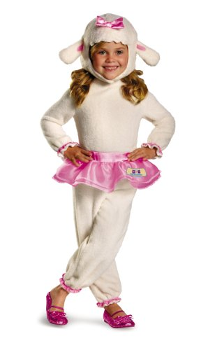 Disguise Disney Doc Mcstuffins Lambie Classic Toddler Costume, Large/4-6x image