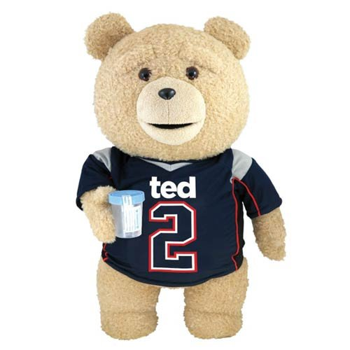 Ted 2 Ted in Jersey 24-Inch R-Rated Talking Teddy Bear