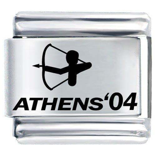Athens Archery Sports Italian Charms Bracelet Link
