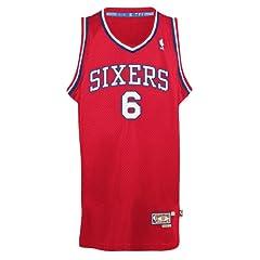 Julius Erving Philadelphia 76ers Adidas NBA Throwback Dr. J Swingman Jersey by adidas