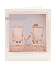 Deck Chairs Anniversary Card