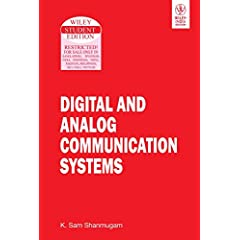 Digital and Analog Communication Systems available at Amazon for Rs.224