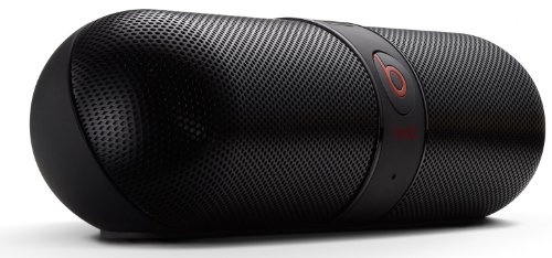 Beats By Dr. Dre Pill Capsule Shaped Bluetooth Wireless Portable Speaker System (Black)