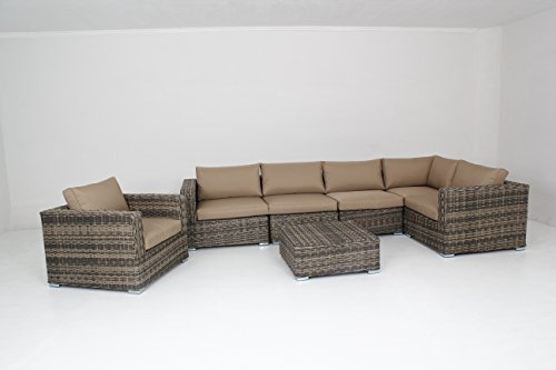 Outdoor-Furniture-Patio-Sofa-8-Piece-Sectional-Table-Chair-Wicker