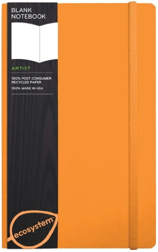 ecosystem Journal Blank: Medium Clementine Flexicover (ecosystem Series)