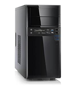 Silent office PC! CSL Speed 4200u (Dual) - computer system with Intel Pentium G3420 2x 3200 MHz, 500GB HDD, 4GB DDR3 RAM, Intel HD Graphics - a dual core office computer for sophisticated users!