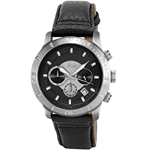 JBW Men's J6259LC Cruiser Chronograph Brushed Watch